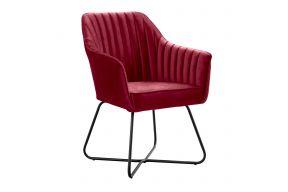 Фотеља,Тенор метални ногарки