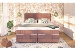 Бокс спринг кревет со електрични подигнувачи, узглавје Боно