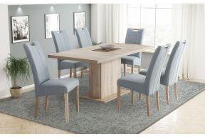 Комплет маса на развлекување Крос и столици Ана