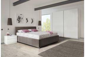 Тапациран кревет со кутија и подници , Кира