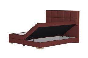 Бокс спринг кревет со кутија за постелнина, узглавје Ото