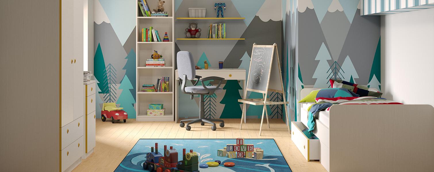 Комплет за детска соба, Анди