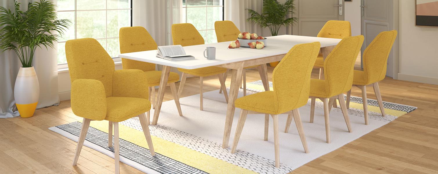 Маса Верто со фотељи и столици Мондо
